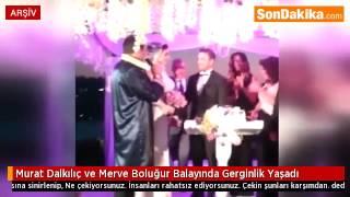 Murat Dalkılıç ve Merve Boluğur Balayında Gerginlik Yaşadı.