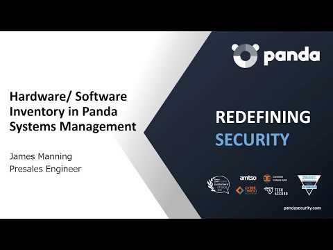 Hardware/Software Inventory In Panda Systems Management