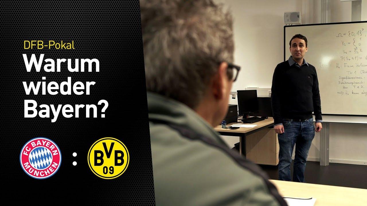 Warum spielt der BVB im Pokal immer gegen die Bayern?   Nobby will's wissen!