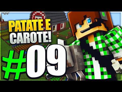 PATATE E CAROTE - Minecraft Cube Skyblock E9