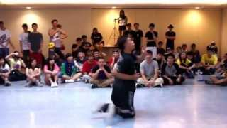 NTU Funk Jam Top 16 Locking: Nega Che Chelaga vs WWBB