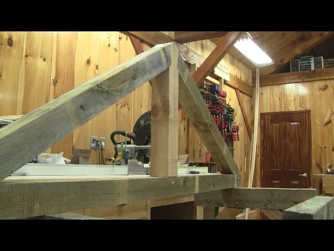 the-woodpecker-ep-115---i'm-showing-how-i-made-my-timber-frame-trusses