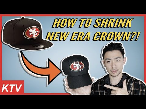 HOW TO SHRINK NEW ERA CROWN?  **MY BEST TECHNIQUE**