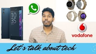 Let's talk about tech #7 | WhatsApp gets live location sharing| LG Watch Style|Vodafone-Idea Merger?