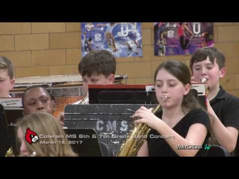 "Colerain Middle School ""Music in Our Schools"" Band Concert: March 16, 2017"