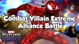 [Marvel Future Fight] Combat Villain Extreme Alliance Battle