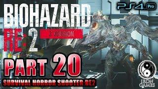 #20【BIOHAZARD RE:2 Zver】Gウイルスに侵されたシェリー!NESTでのクレアvsG第三形態戦【バイオハザードRE:2】