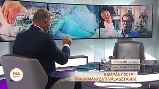 Kampány 2019 - Karácsony Gergely főpolgármester-jelölt