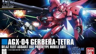 Bandai Gundam 1/144 HGUC Gerbera Tetra Review