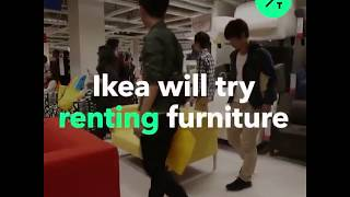 Ikea To Try Renting Furniture