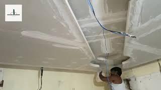 How To Make Pop Ceiling Design   Without Colour Pop Ceiling   Shams interior vlog screenshot 5