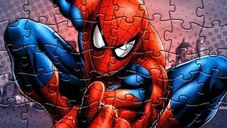Человек Паук Пазл Игра для детей Spider Man Puzzle Video Game For Kids