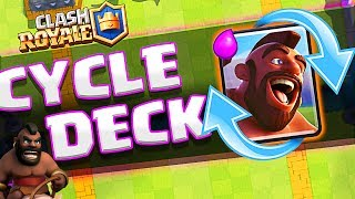 new clash royale cheap cycle deck