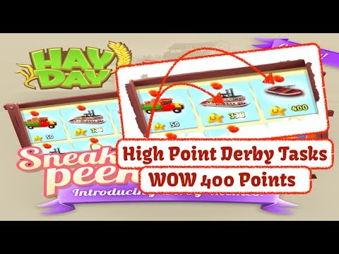 Hay day derby prizes