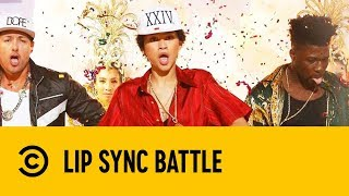 Zendaya Performs Bruno Mars 24k Magic | Lip Sync Battle