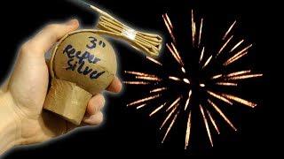 Video selfmade 3 INCH Kugelbombe / firework shell Reeper Silver [HD] download MP3, 3GP, MP4, WEBM, AVI, FLV Oktober 2017