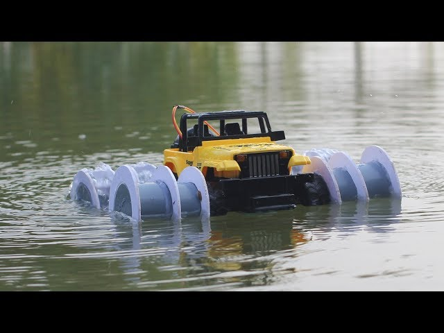 How to make a RC Car _ Boat | Car Driving on Road and Water