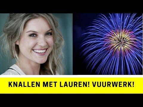 Knallen met Lauren! Vuurwerk!