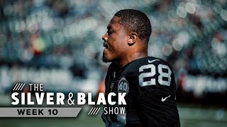 Kirby Wilson Discusses Emergence of Josh Jacobs | Raiders