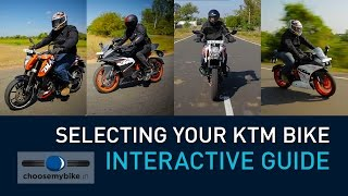 Selecting Your KTM - Interactive Video (LAPTOP & DESKTOP ONLY)