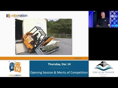 2017 Maritime RobotX Forum - Opening