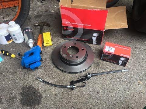ВЛОГ е36 / VLOG E36 #3 ( Задние тормоза - установка / Rear Brakes - Installation )