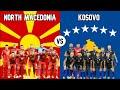 North Macedonia vs Kosovo Football National Teams 2020