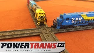 Power Trains 2.0 - Figure 8 Track Pack Review
