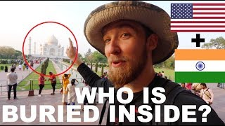AMERICAN VISITS the TAJ MAHAL in INDIA!!