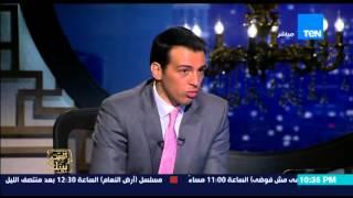 """البيت بيتك - محمد السرسي يرفض المداخلة مع محافظ المنوفية : """" انا اكبر منه وكان شغال تحت ايدي """""""
