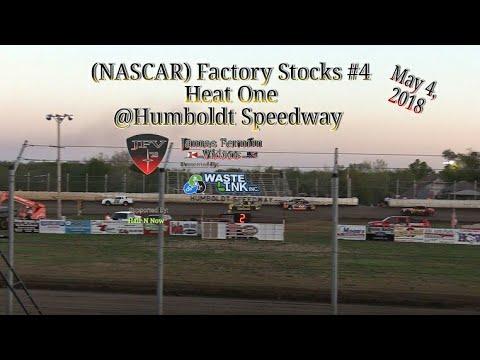 (NASCAR) Factory Stocks #4, Heat 1, Humboldt Speedway, 05/04/18