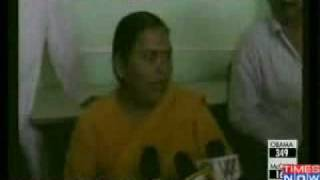Uma Bharati slaps party worker in public