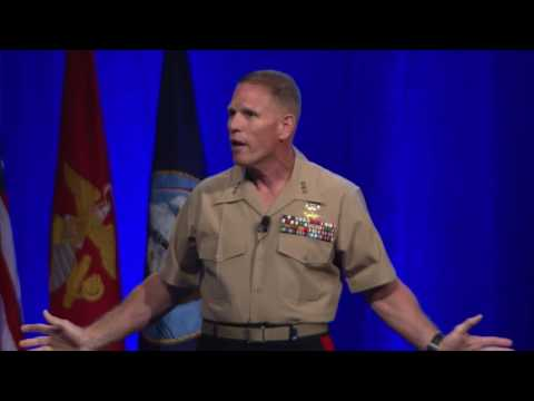 Lt. Gen. Robert Walsh Keynote at the Naval Future Force S&T Expo