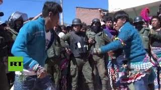 Tinku, una tradicional y muy dolorosa fiesta boliviana