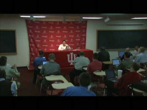 IU Basketball - Tom Crean Press Conference