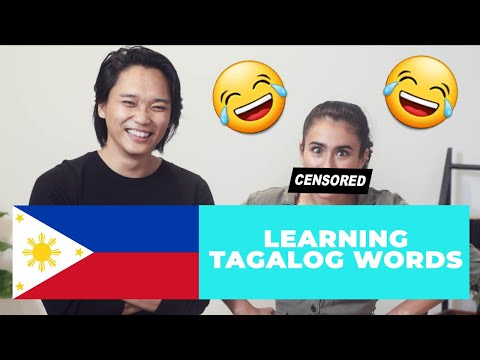 MY FILIPINO HUSBAND TEACHES ME TAGALOG   Learning How To Speak Tagalog   #tagalogchallenge