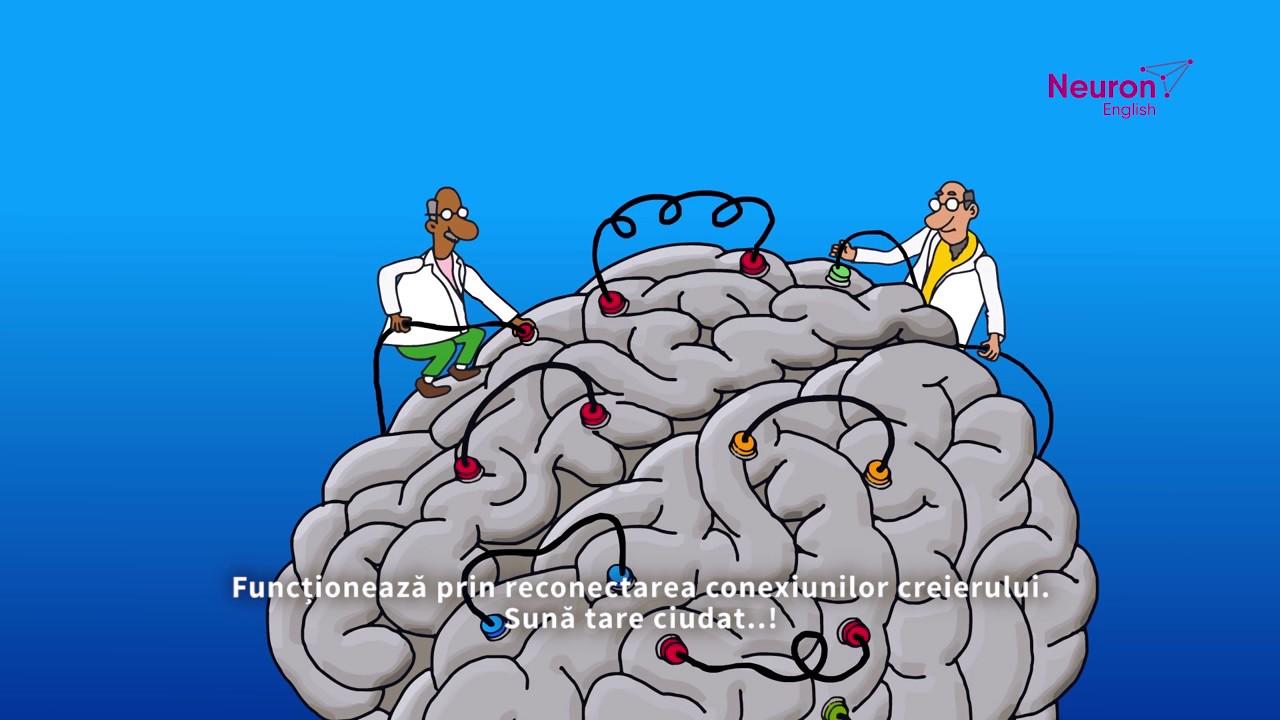 Neuron English te ajuta sa inveti mai eficient