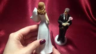 1032 Керамическая фигурка Жених и Невеста