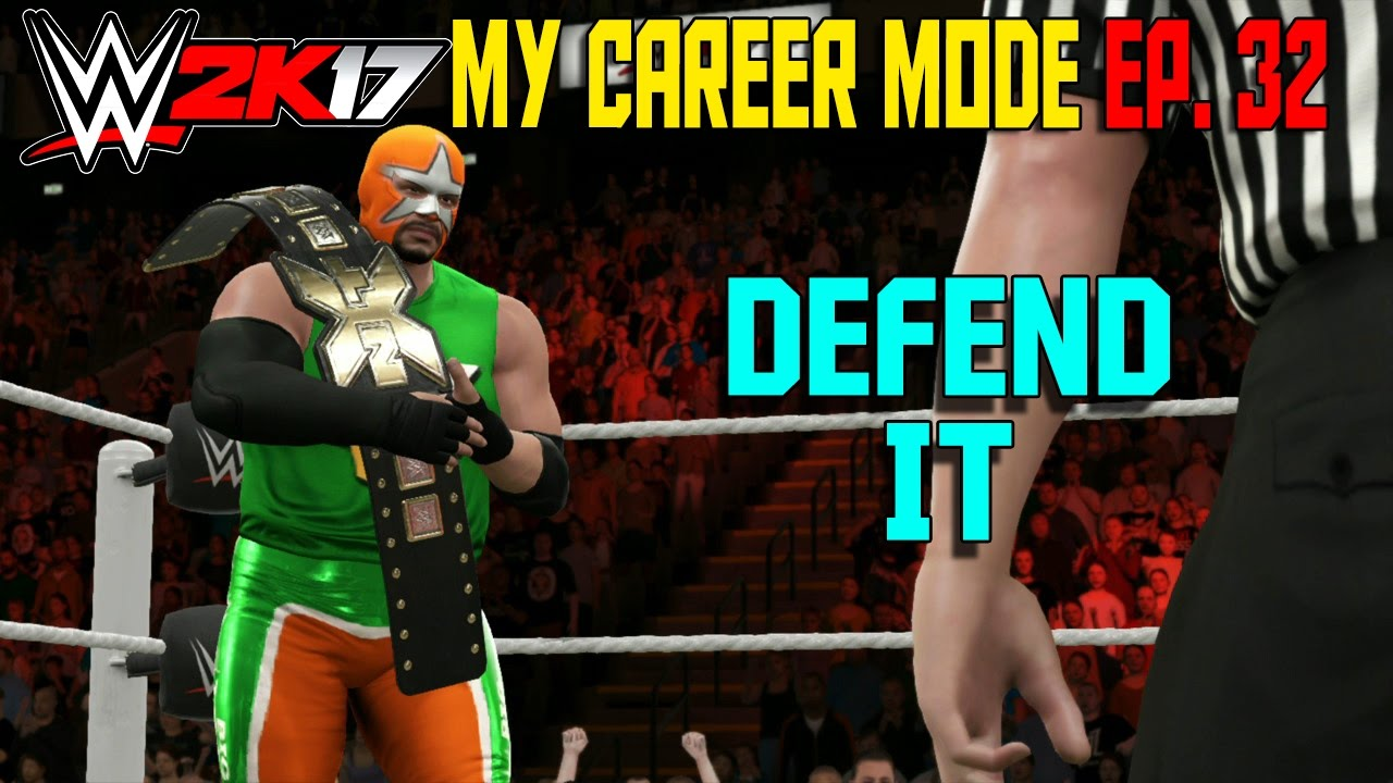 Download SAMI ZAYN vs BIG TRAIN NXT TITLE 3 - WWE 2K17 My Career Mode Gameplay Ep. 33  (MyCareer Part 33)