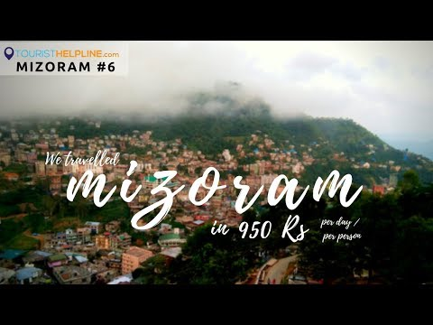 Last day in Mizoram : Trip Cost (Lengpui Tourist Resort/Falkawn village/Shop with no Seller)