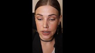 Пробую новую косметику Dr Hauschka Artdeco Делаю простой дневной макияж со стрелками