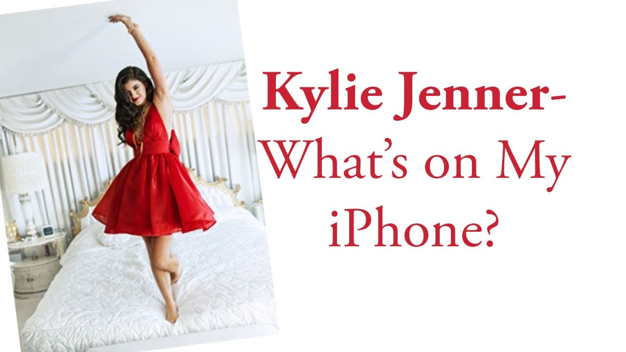 Kylie Iphone Case