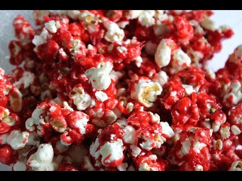 Hot Red Cinnamon Heart Popcorn (Mothers Day Treat)