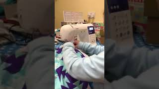 Kids can sew!