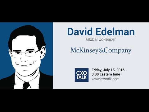 #181: Marketing and Digital Transformation with David Edelman, Partner, McKinsey
