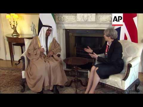 British PM hosts Crown Prince of Abu Dhabi