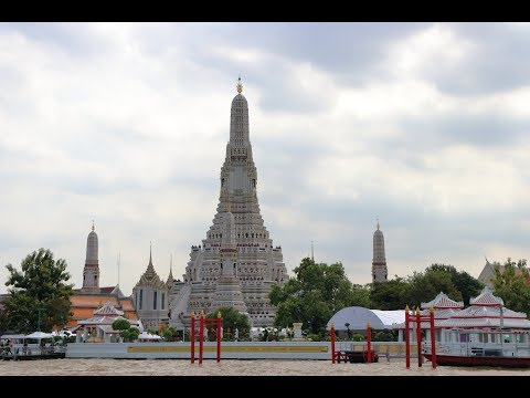 WAT ARUN TEMPLE OF DAWN BANGKOK THAILAND