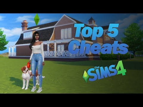 My Top 5 Cheats For The Sims 4