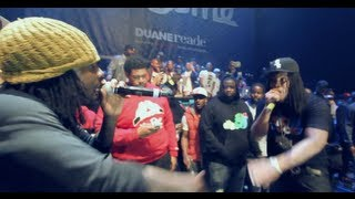 "WALE PERFORMS ""NO HANDS"" LIVE WITH WAKA FLOCKA AT DJ PROSTYLE"