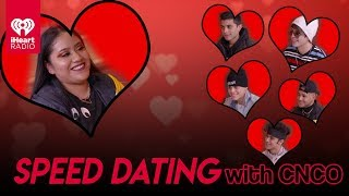 CNCO Speed Dates With A Lucky Fan! | Speed Dating